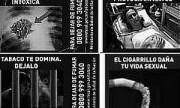 Sumarán impactantes imágenes y leyendas en cajas de cigarrillos