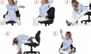 Cinco formas de ejercitarse en la oficina
